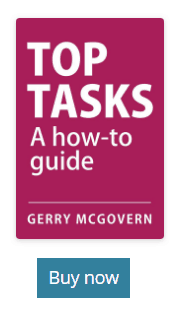 Toptasks how to guide gerry mc govern