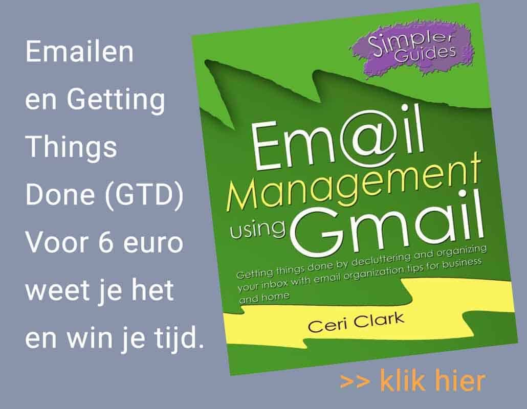 Mailmanagement-principes Gmail oude emails opruimen