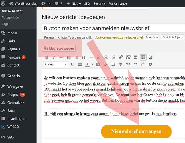 blanco-knop-in-bericht-pagina-WordPress