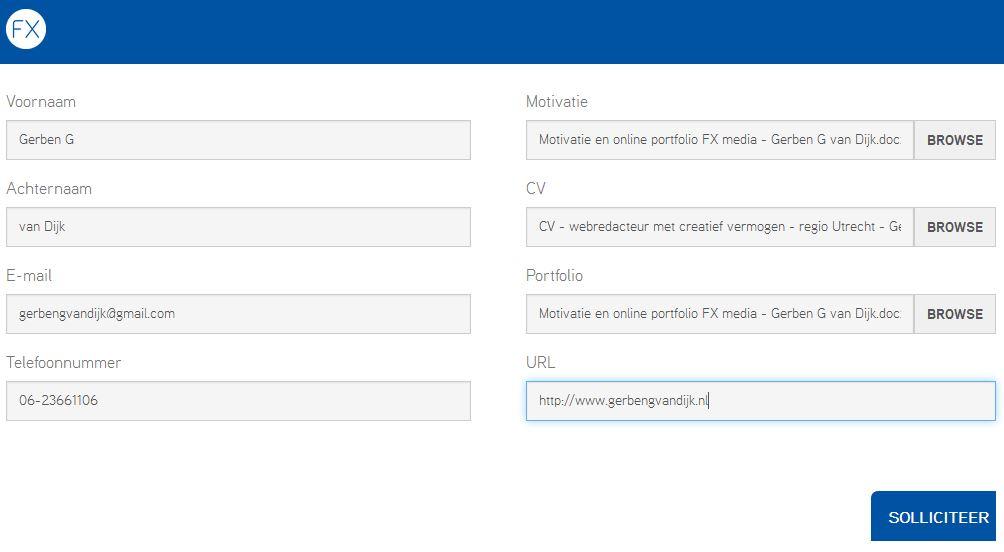 contactformulier-voor-sollicitanten-WordPress