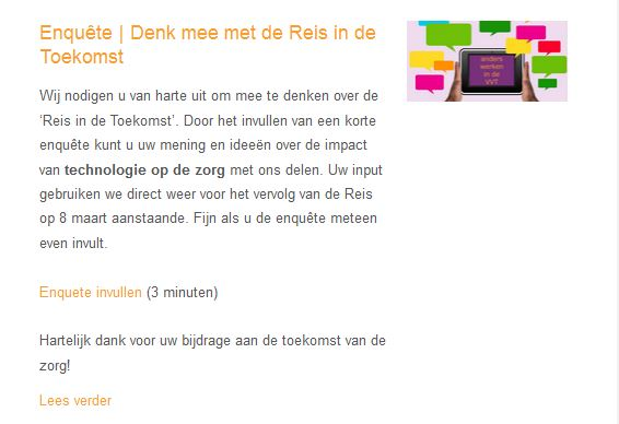 Doe mee -enquete