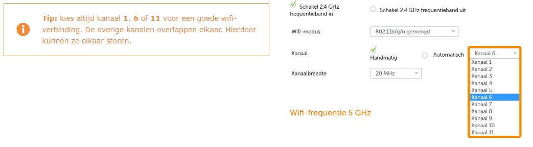 Ziggo wifi kanaal veranderen-3