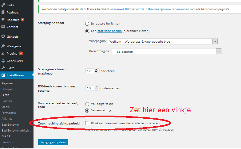 website-blokkeren-niet-poubliceren