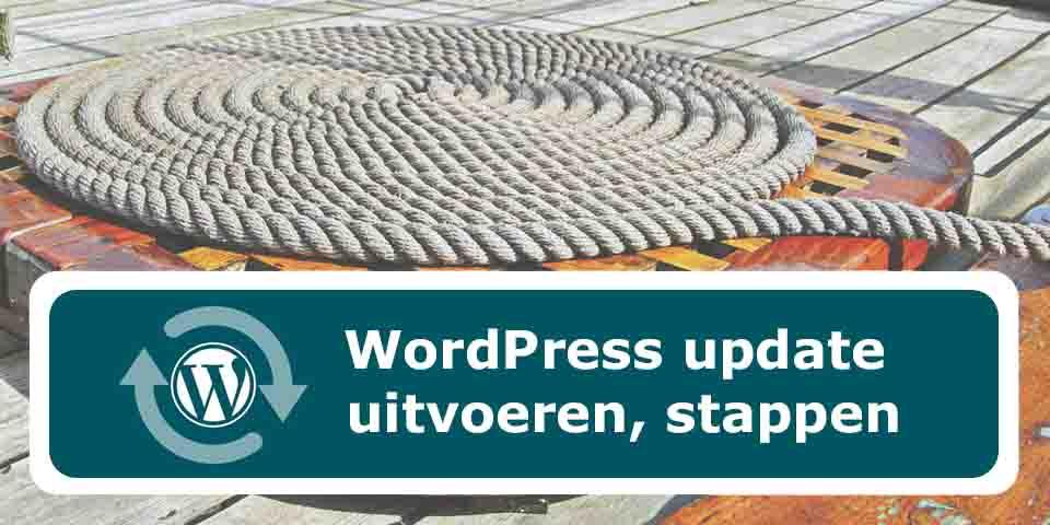 WordPress-update-uitvoeren
