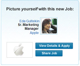 picture yourself linkedin ad