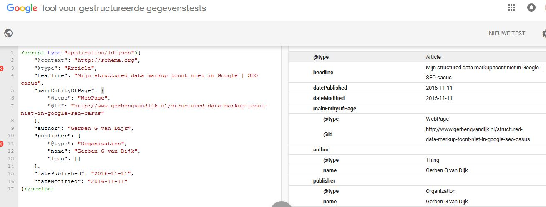 tool-voor-gestructureerde-gegevenstests-google