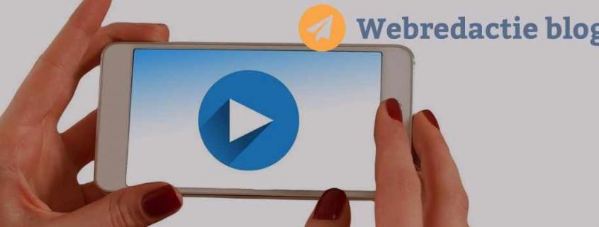 vlog maken of video maken met je mobiel app
