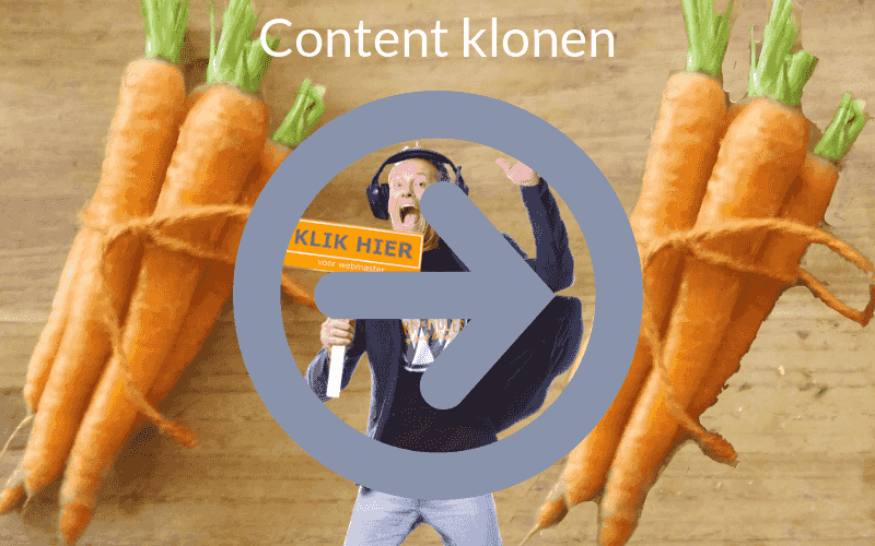 Pagina dupliceren WordPress content klonen plugin duplicate this