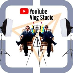 Vlog studio met studiolampen komst 250 Euro (Bol.com)