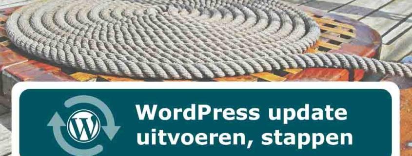 Wordpress update doen