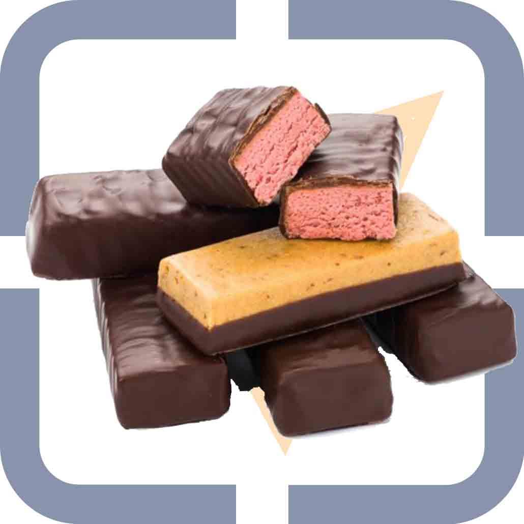 Chocoladerepen voor Opslaan en Doorgaan