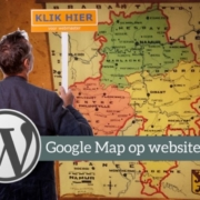 Google maps kaart op website plaatsen via adressen Excel