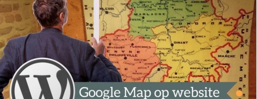 Google maps kaart op website plaatsen via adressen Excel