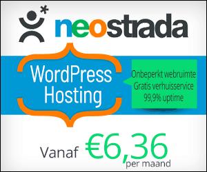 Snelle WordPress hosting Neostrada