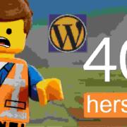404 fout foutmelding page pagina link url herstellen 4045