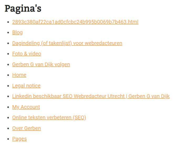 automatisch-pagina-overzicht-WordPress-alle-webpagina-s-via-html-sitemap