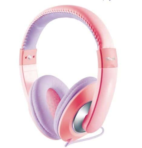 Beste kinder koptelefoon draadloos Bol com roze