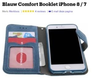 Apple Iphone telefoonhoesje met pasjeshouder goedkoop kooptip