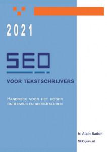 Boek SEO 2021 Alain Sadon