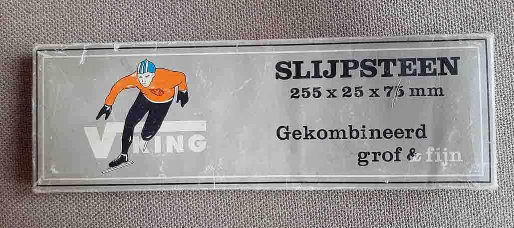 oude slijpsteen voor thuis schaatsen slijpen voor fanatieke schaatsers 1
