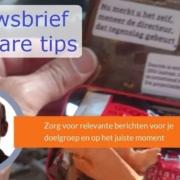 Nieuwsbrief software tips tools enieuwsbrief versturen