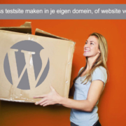 WordPress testomgeving maken in eigen domein of WordPress migreren plugin