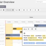 Agenda plugin WordPress screenshot online afspraken boeken