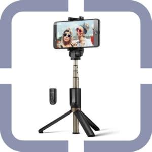 selfiestick voor videobellen thuiswerken