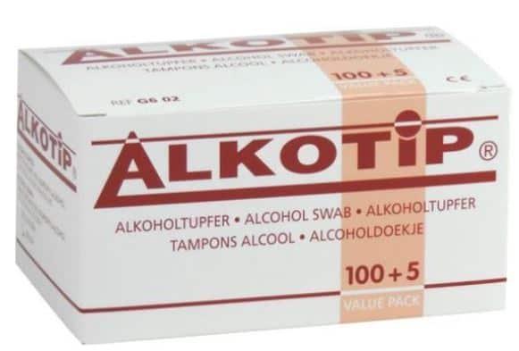 toetsenbordreiniger doekjes met alcohol 70 80 procent