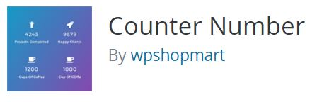 Counter number WordPress plugin