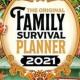 family survival calender kalender overleefkalender gezin schooljaar 2020 2021