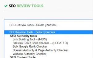 SEO review tools via chrome extentie