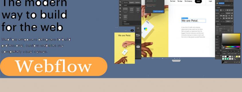 Webflow CMS software voor ontwerpers en marketing agencies