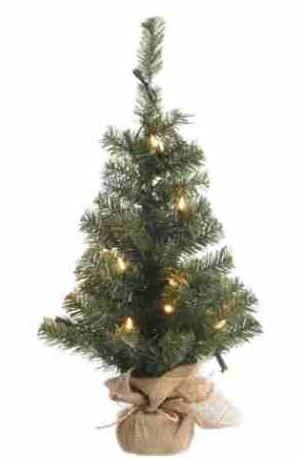 mini kerstboom met verlichting online bestellen 45cm of 60cm