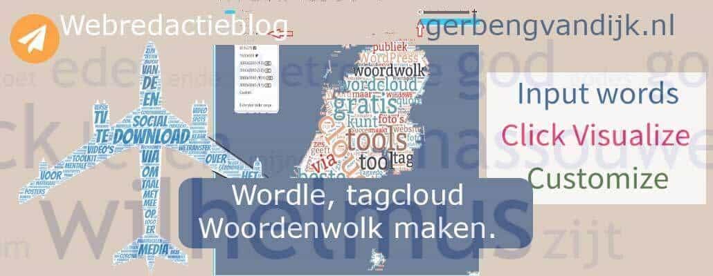 Wordle Woordenwolk maken Word cloud Wordclouds generator free gratis