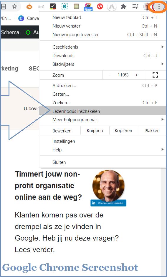 Hoe tekst kopieert vanaf beveiligde website via Google Chromeontent via Google Chrome