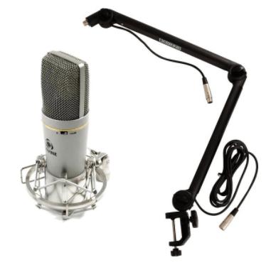 Devine BM 600 podcast microfoon en microfoonhouder kopen bol com