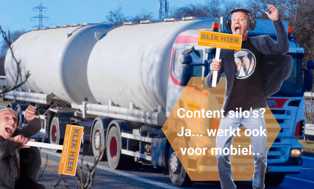 Content silos Ja ook voor mobiel...