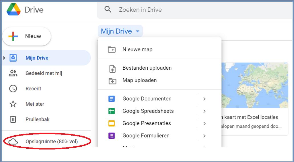 Hoe Google drive bestanden verwijderen Lees het hieronder