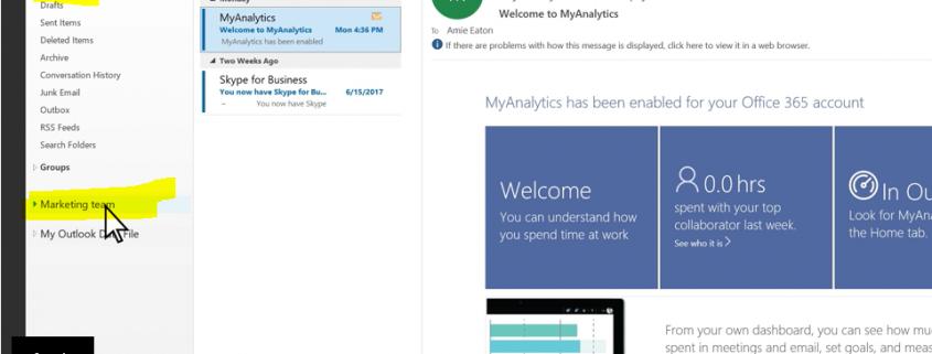 Outlook mailbox toevoegen